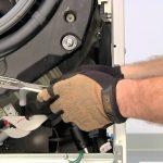 تعویض کمک فنر ماشین لباسشویی